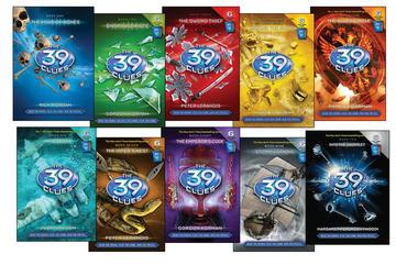 the 39 clues capas inglês